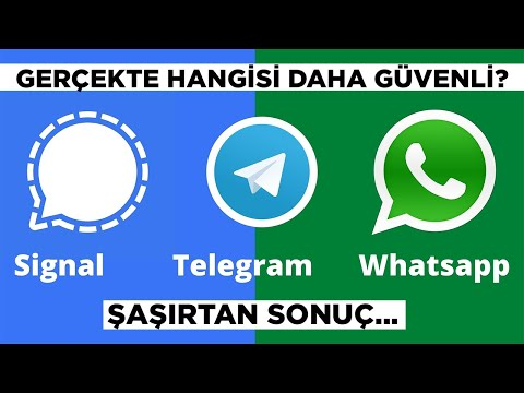 Gerçekte hangisi daha güvenli?   WhatsApp, Telegram, Signal...