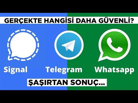 Gerçekte hangisi daha güvenli? | WhatsApp, Telegram, Signal...