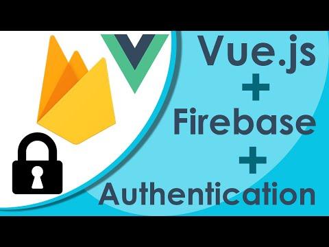 Vue.js Firebase Authentication - New Project Tutorial thumbnail