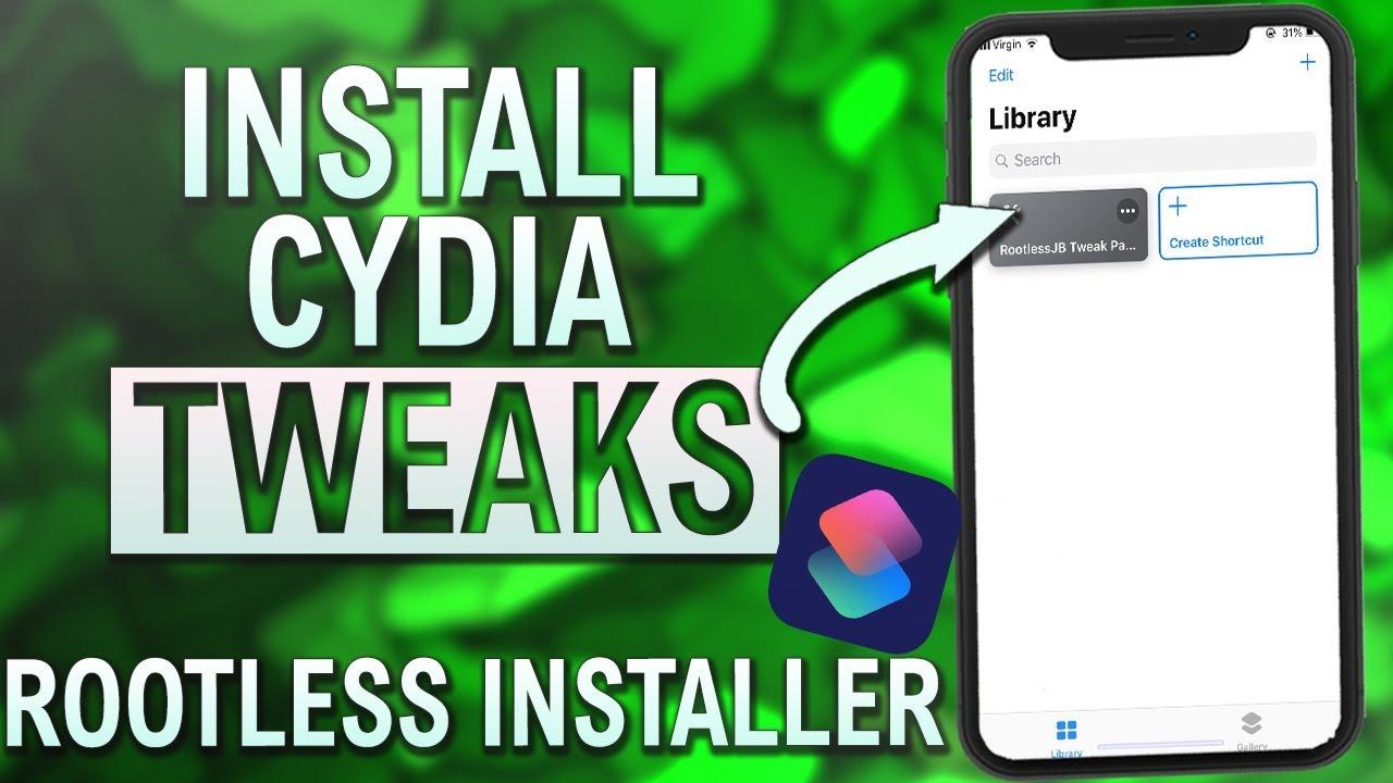 How To Install JAILBREAK TWEAKS Using Rootless Installer - iOS 12 Jailbreak  Shortcuts App