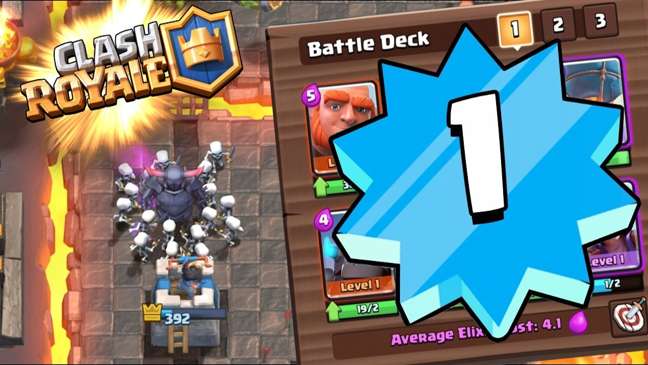 LEVEL 1 VS HIGHER LEVEL'S - Clash Royale - ONLY LEVEL 1 CARDS!