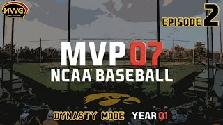 MWG -- MVP 07 NCAA Baseball -- Dynasty Mode, Episode 2