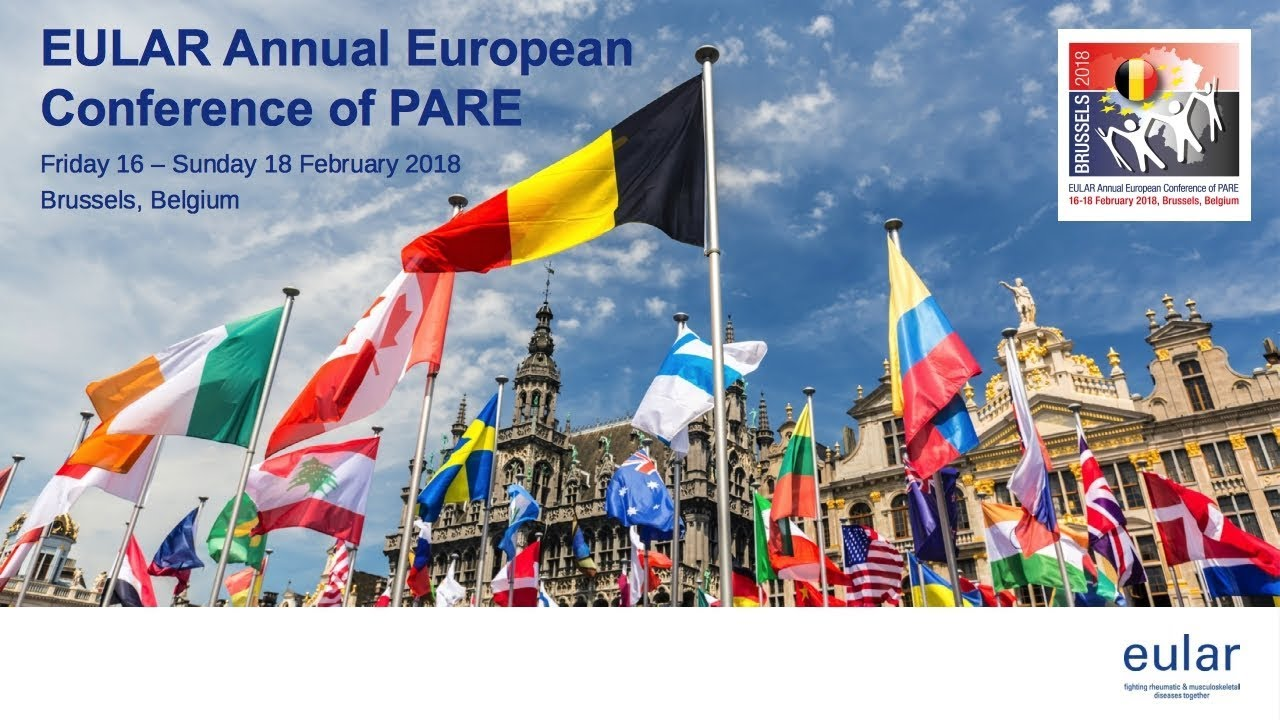 EULAR | Annual European conference of PARE