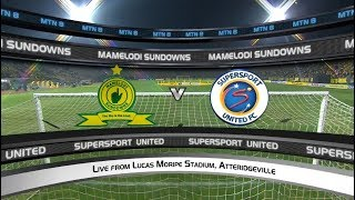 MTN8 2019/20 | Mamelodi Sundowns vs SuperSport United  | Highlights