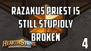 [Hearthstone] Project: Legend #4: Razakus Priest Is OP Even After KaC