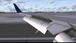 Delta Airlines 767-300ER Lands at Boston [HD]