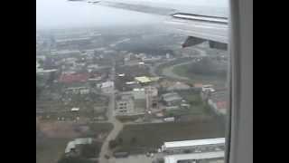 中華航空公司飛機 香港起機  桃園機場降落  過程直擊  (下)