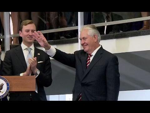 Rex Tillerson Full Speech to State Deptartment Employees   ABC News