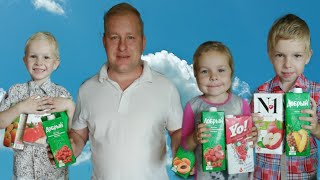 Сок челлендж Juice Challenge Угадай вкус сока от Miss Katie and Alex.