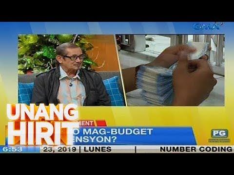 Unang Hirit: Senior Moments: Usapang Pinansyal