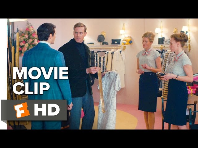The Man From U N C L E Movie Clip It Doesn T Have To Match 2015 Henry Cavill Action Movie Hd Youtube