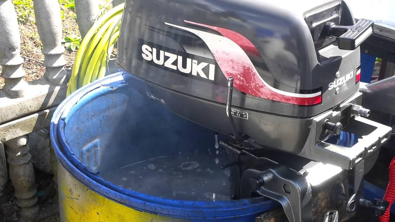 2000 Suzuki Dt 4 Hp Outboard Motor 2 Stroke Dwusuw Youtube