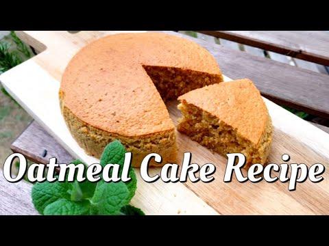 混ぜるだけ‼️オートミールケーキ‼-easy-and-healthy-oatmeal-cake-recipe❣️