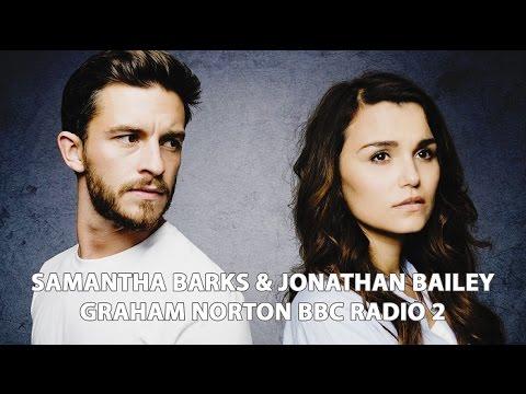 Samantha Barks & Jonathan Bailey  Graham Norton BBC Radio 2