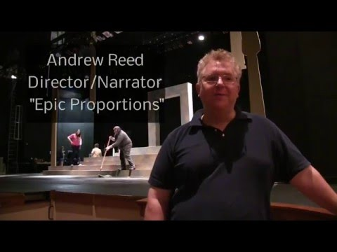 Director, Andrew Reed Explains 'Epic Proportions' Play At Angelina College