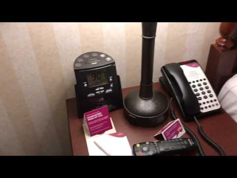 Review of Crown Plaza Superior Fallsview room Niagara Falls Ontario Canada