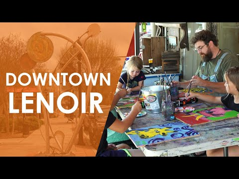 Downtown Lenoir North Carolina  North Carolina Weekend  UNC-TV