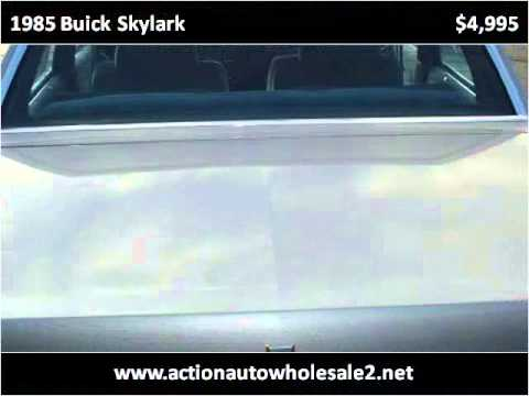 1985 buick skylark used cars cleveland oh youtube. Black Bedroom Furniture Sets. Home Design Ideas