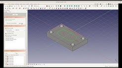 Free CAD - CAM Program: Tutorial episode #1