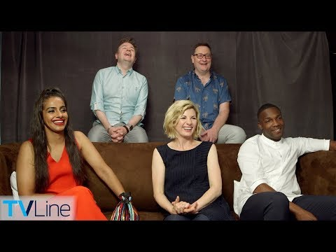 Jodie Whittaker & 'Doctor Who' Cast   ComicCon 2018  TVLine