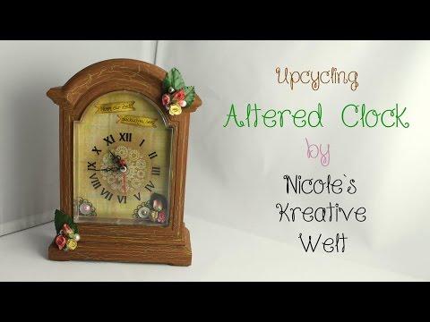 [Tutorial #5/DIY/KoOp Craft] Altered Clock |HD|