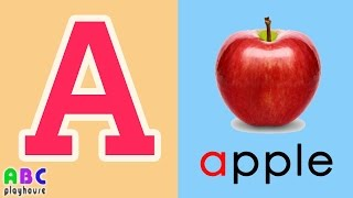 【中英字幕】ABC教學 第1集 Apple|單字A-Z|YOYO|ABC Playhouse|兒童英文教學Learning English For Kids
