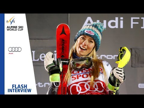 "Mikaela Shiffrin | ""I felt really good today"" 