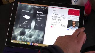 Windows 10 Technical Preview on the Surface Pro 3
