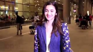 Alia Bhatt Oops Moment At Airport 2018