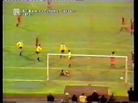 FC Bayern - Dynamo Dresden 1973 Europacup alle Tore Originalkommentar Oskar Klose