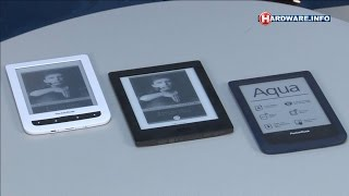 Kobo Aura H2O en Pocketbook Aqua e-readers review - Hardware.Info TV (Dutch)