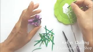 3D Quilling Flower Pot Series   Quilling Flower Pot 1