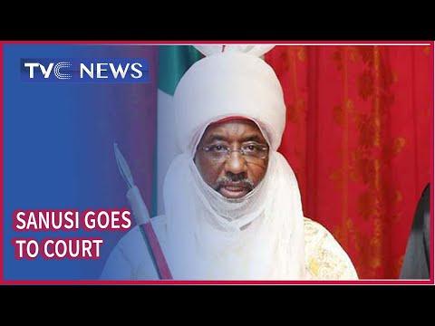 Deposed Emir Muhammadu Sanusi II goes to Court