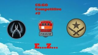 CS:GO - Full Competitive Match #2 (Funny Steam Bios)