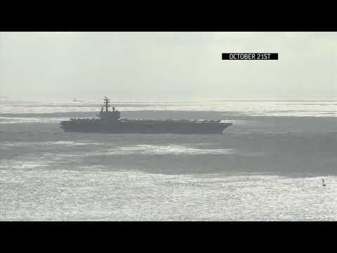 U.S. Navy Plane Crash In Pacific, 11 On Board