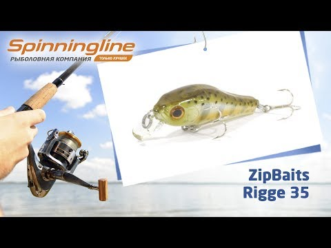 Воблеры ZipBaits Rigge 35