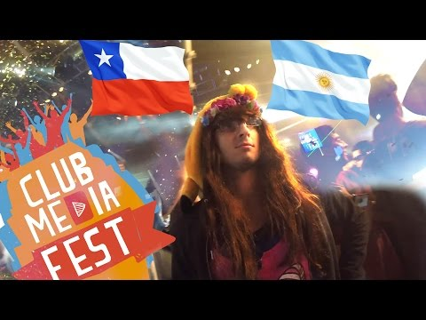 Elvisa en Chile y Argentina | CLUB MEDIA FEST 2015