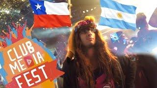 Elvisa en Chile y Argentina   CLUB MEDIA FEST 2015
