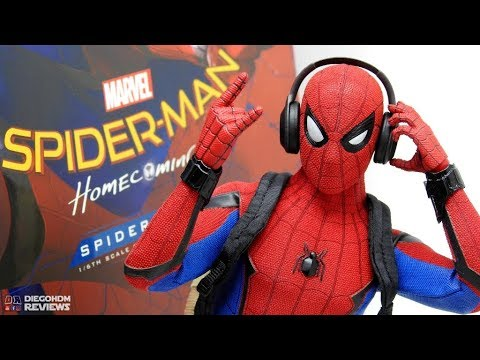 Hot Toys SPIDER-MAN Homecoming Review BR / DiegoHDM