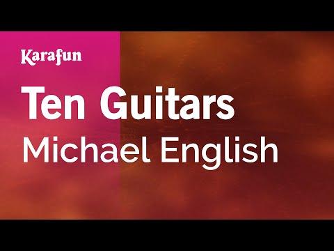 Karaoke Ten Guitars - Michael English *