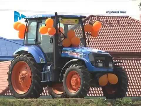 3-th Russian Open Ploughing Championship (2014 г., Vladimir region)
