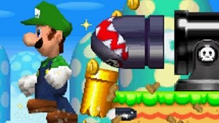 New Super Luigi Bros DS - All Secret Exit Locations