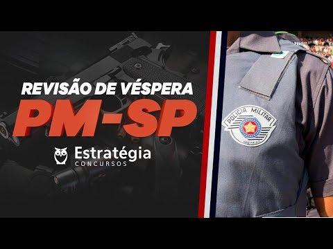 Revisão de Véspera PMSP para Soldado AO VIVO ÀS 8h30min