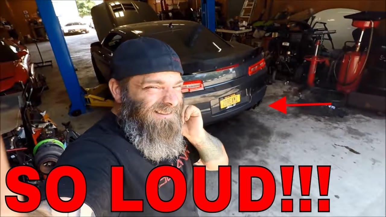 best zl1 camaro exhaust