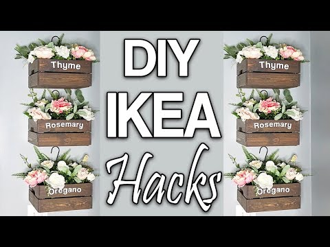 DIY IKEA Hacks ⭐ Budget Home Decor Ideas