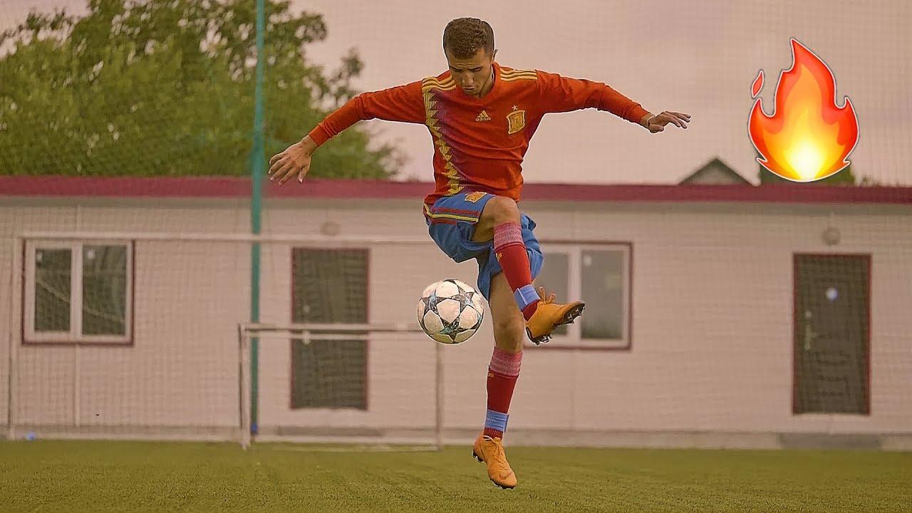5 СПОСОБОВ КРАСИВО ПОДНЯТЬ МЯЧ С ЗЕМЛИ | Learn 5 Easy Beginner Football Skills