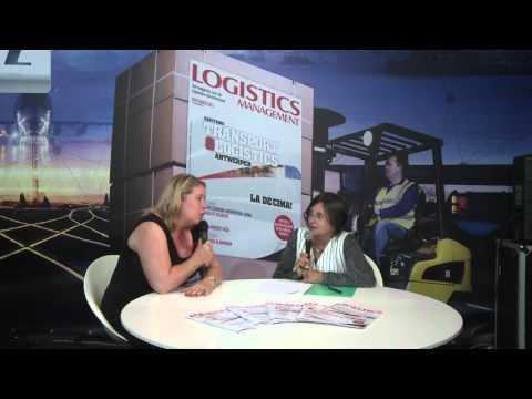 Logistics.TV Live Studio - Bianca Peeters (Easyfairs)