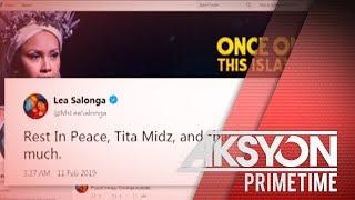 Ilang aktor at singer, nagbigay-pugay kay Armida Siguion-Reyna