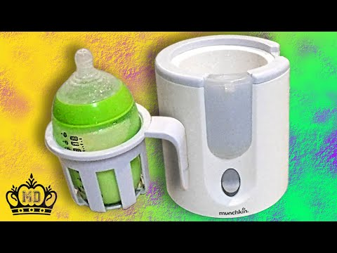 Munchkin High Speed Bottle Warmer Review (Uses Steam) and How To Use It