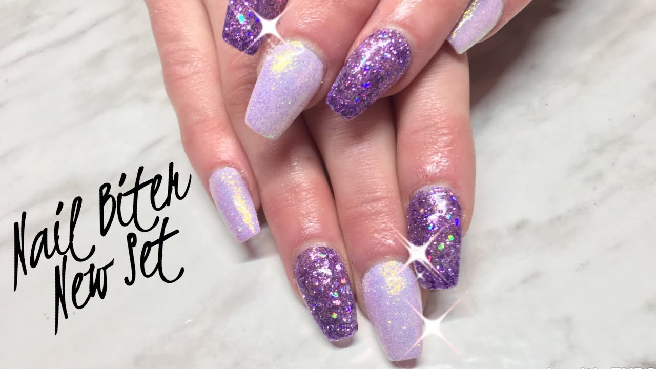 Watch me Work: Nail Biters Nails with Canni Gel Paint/Light Elegance ...